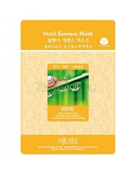 Mijin Snail Essence Mask   Маска тканевая улитка