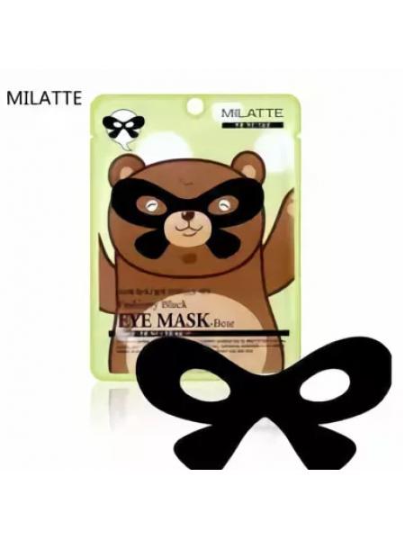 Milatte Fashiony Black Eye Mask Bear  Маска от морщин вокруг глаз Медведь