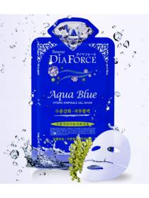 Rearar  Dia Force Aqua Hydro Ampoule Gel Mask Гидрогелевая маска для лица с  морскими водорослями
