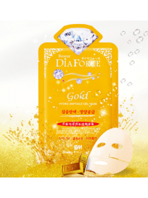 Rearar  Dia Force Gold Hydro Ampoule Gel Mask Гидрогелевая маска для лица с коллоидным золотом