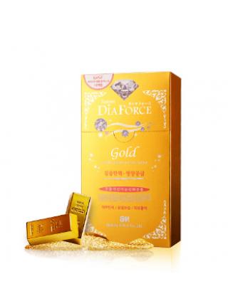 Гидрогелевая маска для лица с коллоидным золотом Rearar  Dia Force Gold Hydro Ampoule Gel Mask