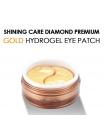 Гидрогелевые патчи для глаз Misoli Hydrogel shinning Care Gold Eye Patch с золотом и алмазной пудрой