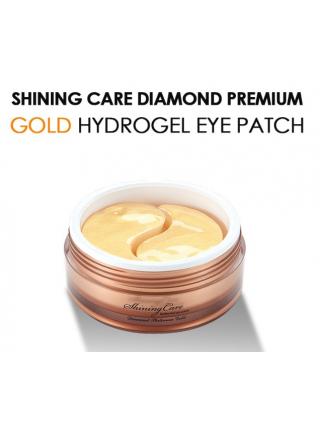 Misoli  Премиальные гидрогелевые патчи для глаз с золотом  Hydrogel shinning Care Gold Eye Patch (60 шт)