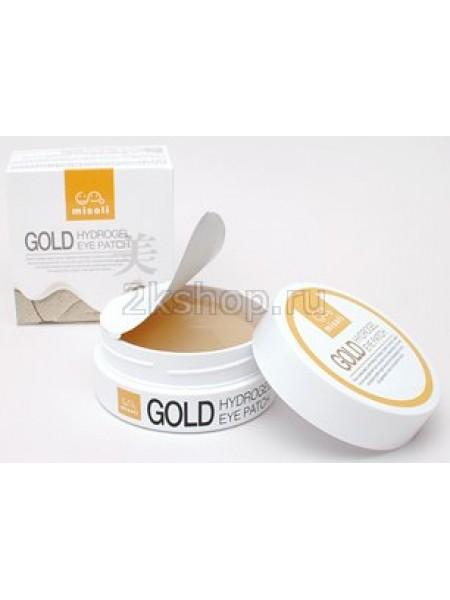 Misoli Антивозрастные гидрогелевые патчи  с коллоидным золотом  Gold Hydrogel Eye Patch