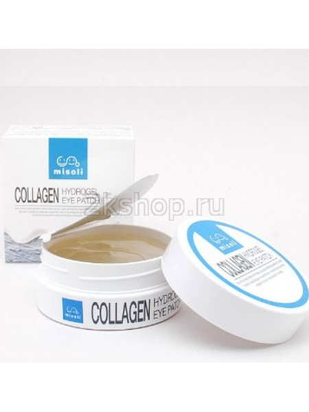 Misoli Гидрогелевые патчи для глаз с коллагеном Collagen Hydrogel Eye Patch (60шт)