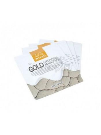 Misoli Gold Hydrogel Mask Pack Гидрогелевая маска для лица с золотом