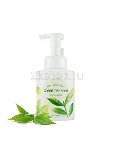 Пенка для умывания с зеленым чаем