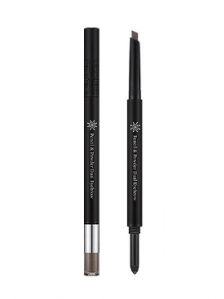 Missha The Style Pencil & Powder Dual Eye Карандаш для бровей