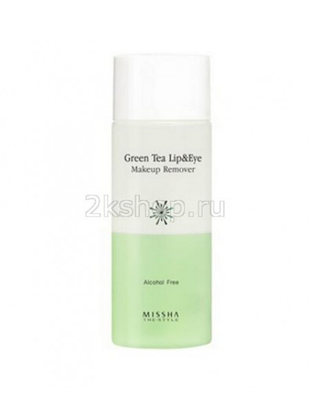 Missha The Style Green Tea Lip & Eye Makeup Remover Средство для снятия макияжа с глаз и губ