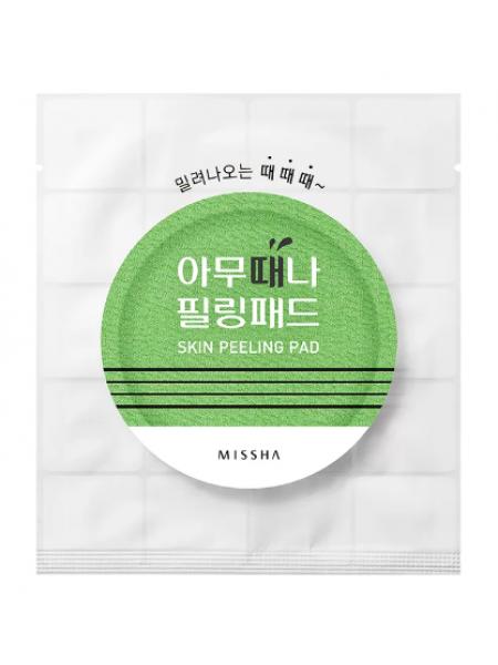 MISSHA Skin Peeling Pad Пилинг салфетка с AHA и BHA кислотами