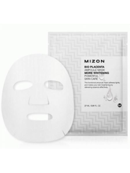 Mizon Bio Placenta Ampoule Mask Осветляющая маска с плацентой из биоцеллюлезы