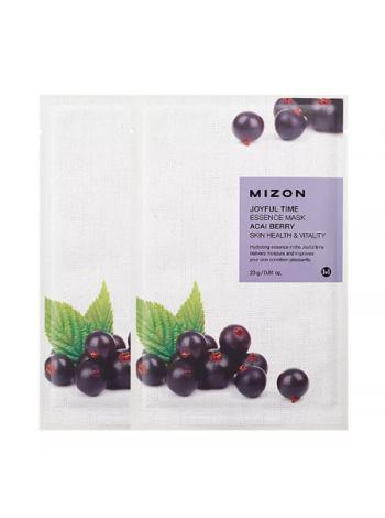 Mizon Joyful Time Essence Mask Acai Berry Тканевая маска с экстрактом ягод асаи