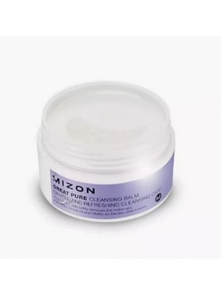 Mizon great pure cleansing balm Очищающий бальзам Для снятия макияжа