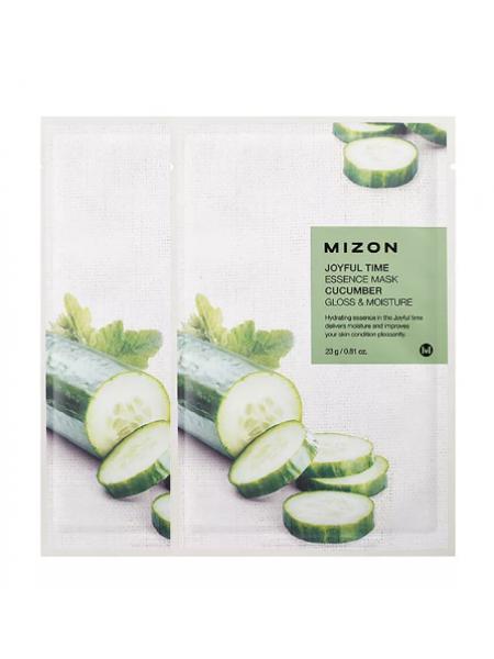 Mizon Joyful Time Essence Mask Cucumber Тканевая маска с экстрактом огурца