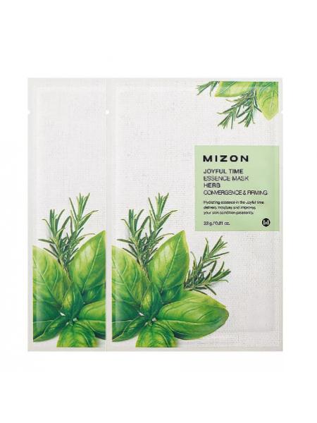 Mizon Joyful Time Essence Mask Herb Тканевая маска с экстрактом трав