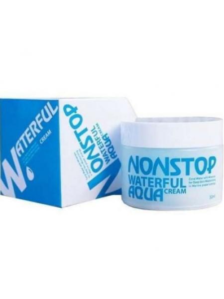 Mizon NONstop Waterful Cream  Супер увлажняющий крем для лица