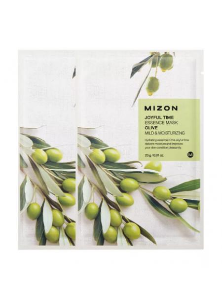 Mizon Joyful Time Essence Mask Olive Тканевая маска с экстрактом Оливы