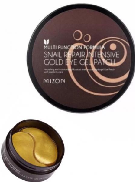Mizon Гидрогелевые патчи для глаз Snail Repair Intensive Gold Eye Gel Patch