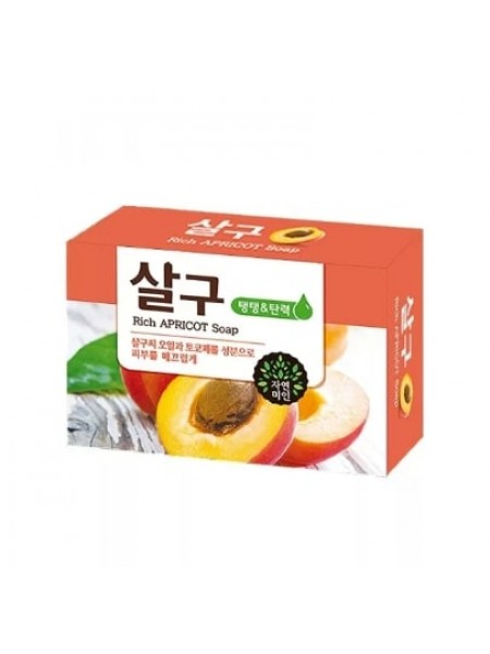 Mukunghwa Rich Apricot Soap  Мыло абрикосовое