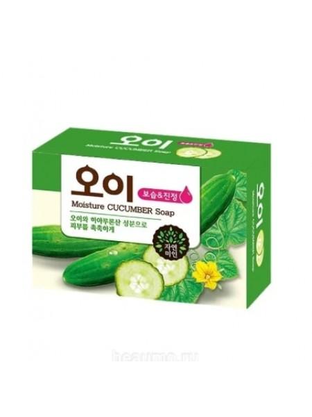 Mukunghwa Moisture Cucumber Soap Увлажняющее мыло с огурцом