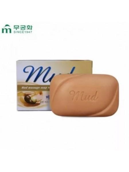 Mukunghwa Mud Massage Soap  Мыло с эффектом массажа