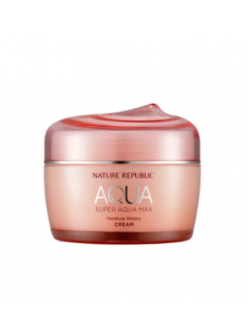 Nature Republic Super Aqua Max Moisture Watery Cream (RR)  Крем для лица увлажняющий