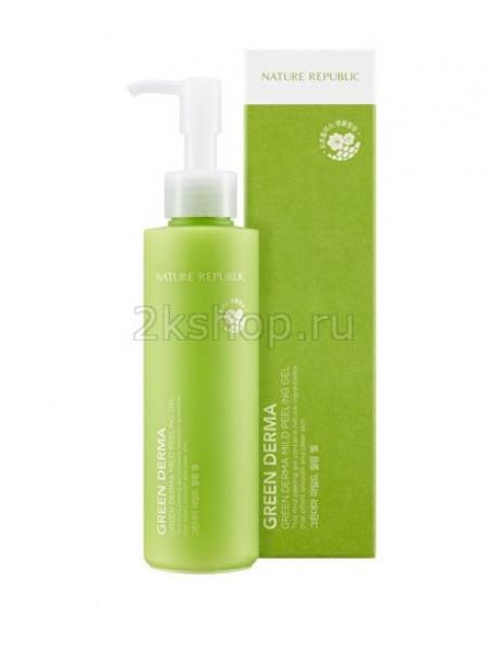 Пилинг-гель Nature Republic Green Derma Mild Peeling GeL
