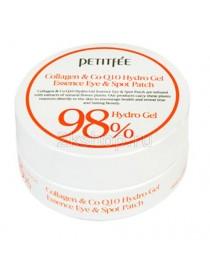 Petitfee Гидрогелевые патчи для век с  коллагеном и коэнзимом Q10 Collagen & CoQ10 Hydrogel Eye Patch (60 шт.)