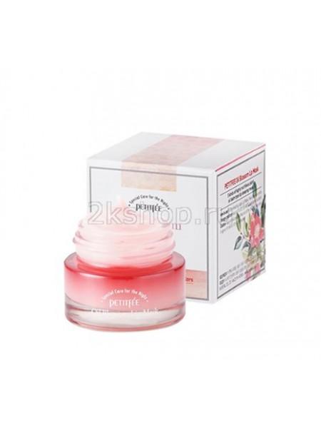Petitfee Oil Blossom Lip Mask Ночная маска для губ с комплексом 5 ценных масел