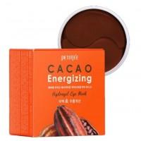Тонизирующие гидрогелевые патчи с какао Petitfee Cacao Energizing Hydrogel Eye Patch 60шт
