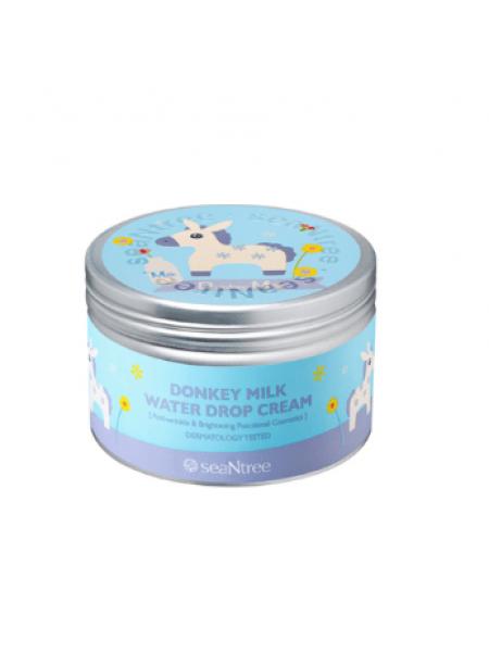 SEANTREE Donkey Milk Water Drop Cream 200g (Design 4) Крем для лица с молочными протеинами