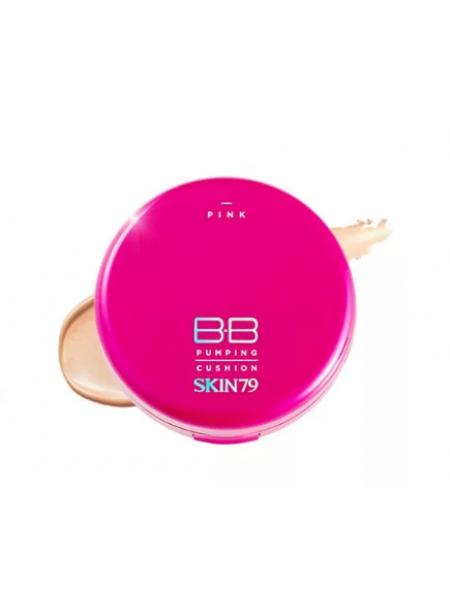 SKIN79 Pink BB Pumping BB Cream SPF50 + PA +++ ББ-крем  в кушоне