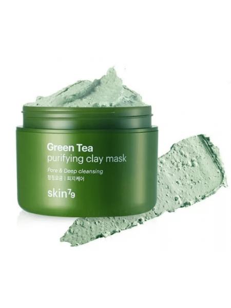 SKIN79 Green Tea Clay Mask Очищающая глиняная маска с зеленым чаем