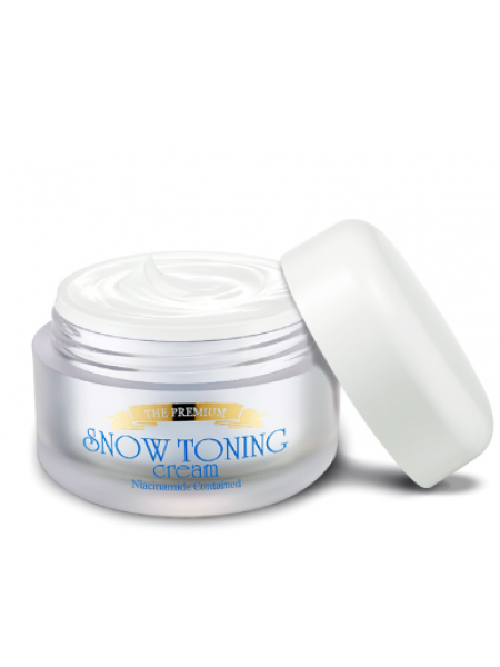 Secret Key The Premium Snow Toning Cream  Премиум крем для лица осветляющий