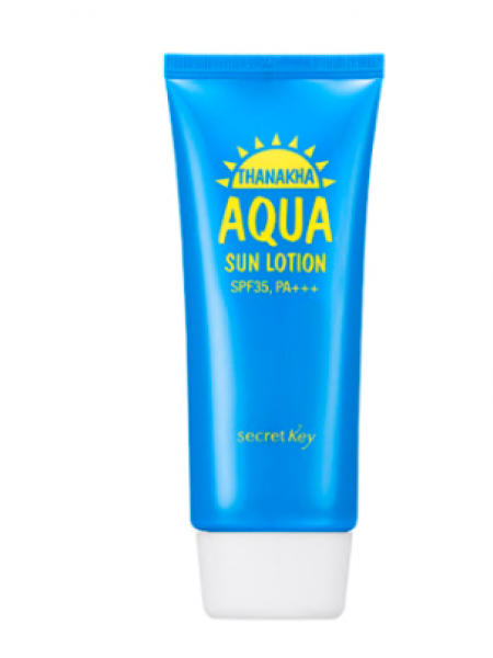 Secret Key Thanakha Aqua Sun Lotion SPF35 PA+++  Лосьон солнцезащитный увлажняющий