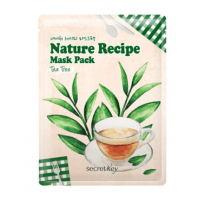 Secret Key Nature Recipe Mask Pack Tea Tree   Маска тканевая c  чайным деревом
