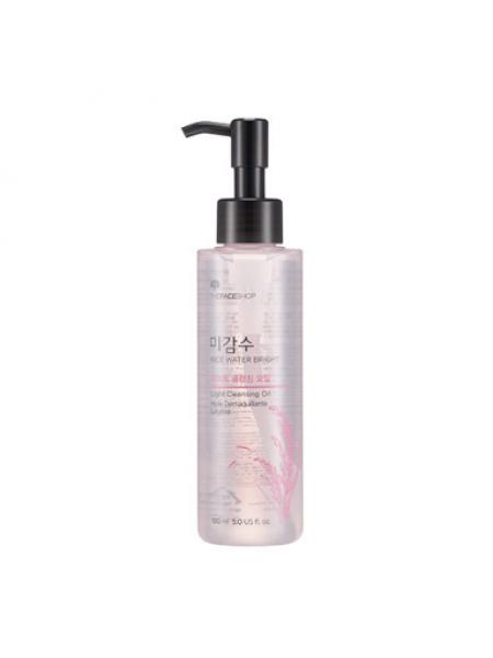 Гидрофильное  масло для умывания жирной кожи The Face Shop Rice Water Bright  Cleansing Light Oil R2015