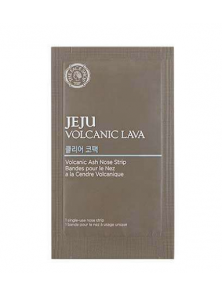 The Face Shop Jeju Volcanic Lava Pore Clear Nose Strip Полоски для носа очищающие