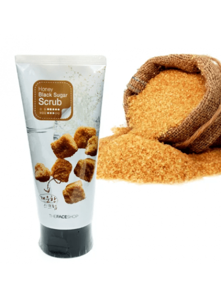 The Face Shop Smart Peeling Honey Black Sugar Scrub Скраб-пилинг с экстрактом черного сахара