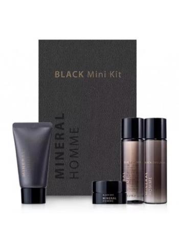 The Saem Mineral Homme Black Mini Kit Набор  миниатюр мужской увлажняющий тревэл версия