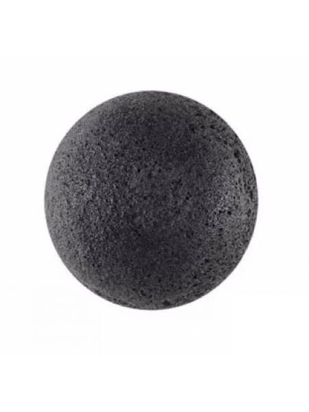 The Saem 100% Charcoal Jelly Cleansing Puff Спонж конняку  с активированным углем