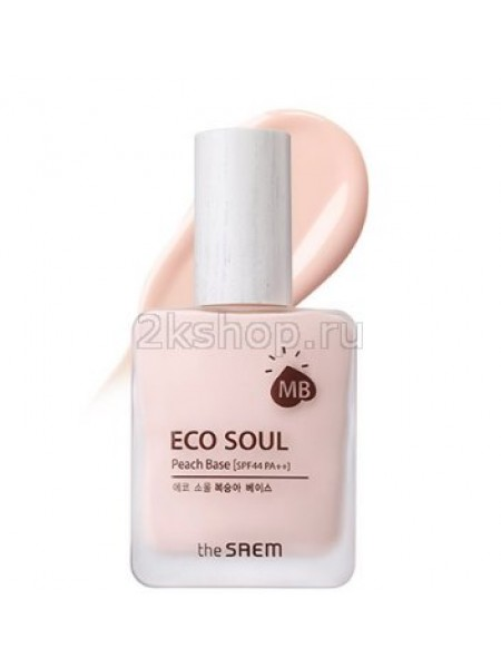 The Saem Eco Soul Peach Base База под макияж