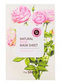 The Saem Natural Rose Mask Sheet Маска тканевая  с экстрактом розы