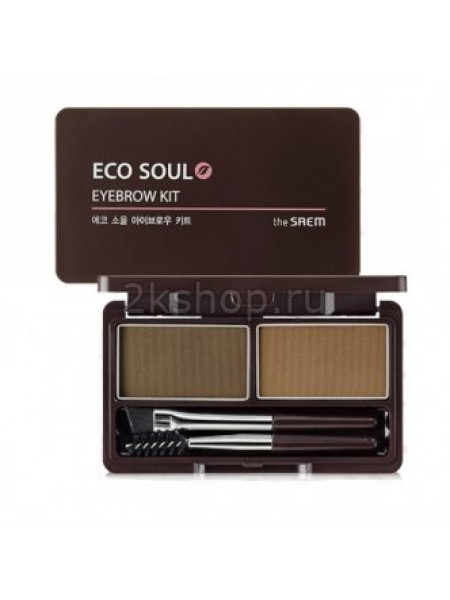 The Saem Eco Soul Eyebrow Kit Пудра для бровей