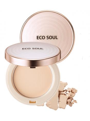 The Saem Eco Soul UV Sun Pact SPF 50/PA++++ Компактная пудра- санскрин