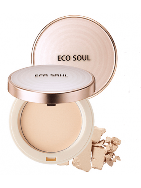 The Saem Eco Soul UV Sun Pact SPF 50/PA++++ Компактная пудра- санскрин