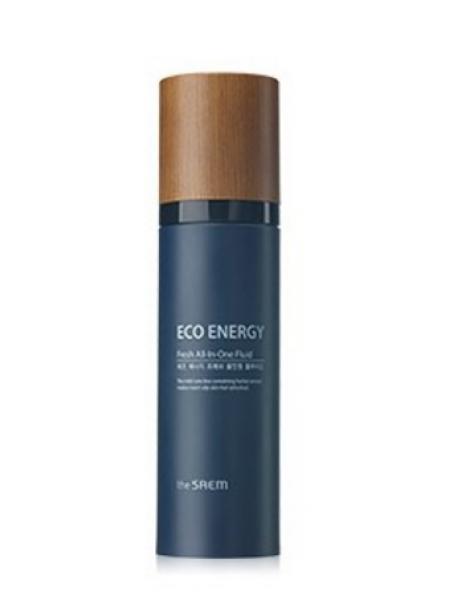 The Saem Eco Energy Fresh All In One Fluid  Многофункциональный освежающий флюид для мужчин