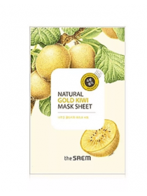 The Saem Natural Gold Kiwi Mask Sheet Маска тканевая с экстрактом киви