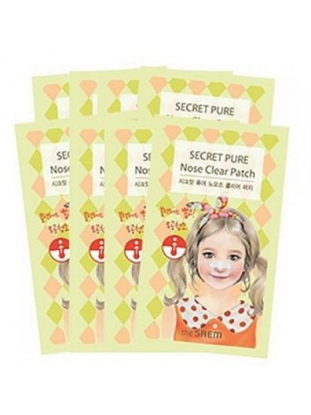 The Saem Secret Pure Nose Clear Kit Набор для удаления черных точек