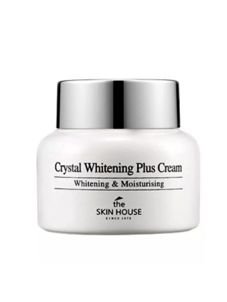 Осветляющий крем против пигментации кожи лица The Skin House Crystal Whitening Plus Cream